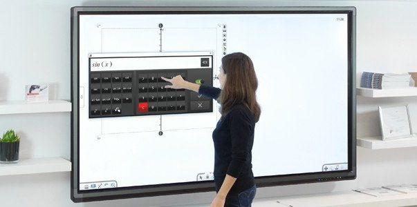 écran interactif android